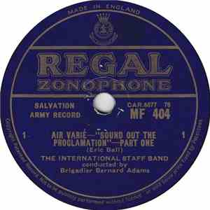 The International Staff Band - Air Varie - Sound Out The Proclamation download